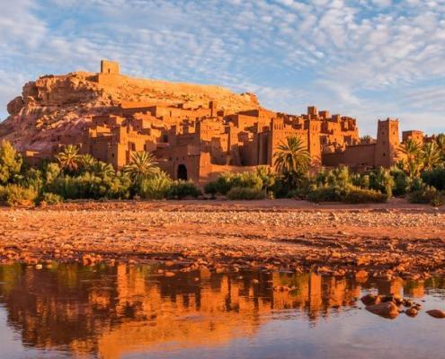 Ait Ben Haddou near Ouarzazate in South Morocco