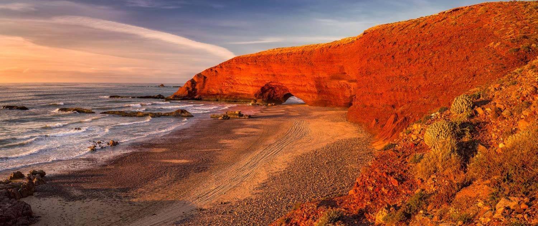 Strand am Atlantik in Marokko