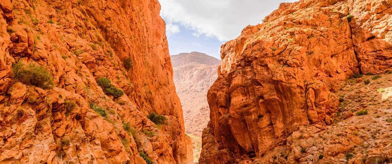 Marokko Rundreise, Todra Gorges im Atlasgebirge, Marokko
