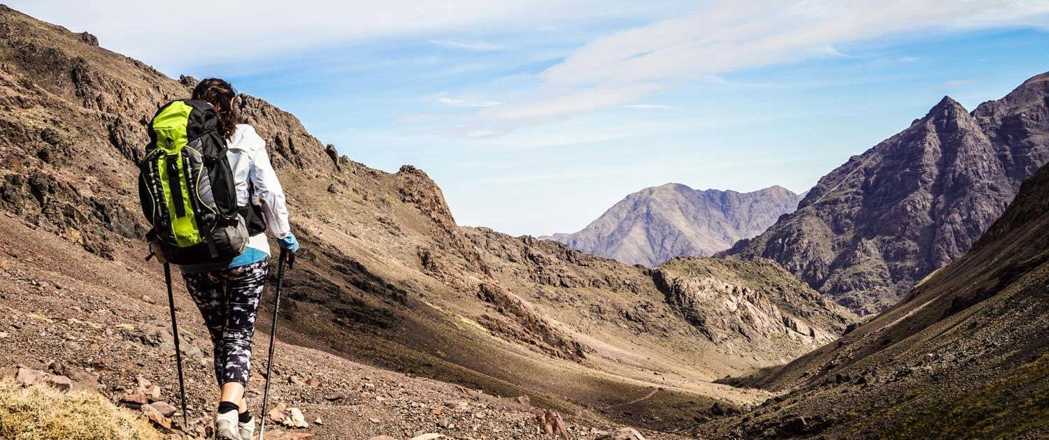 Trekking tour Atlas Mountains incl. summit ascent, 4 days from Marrakesh
