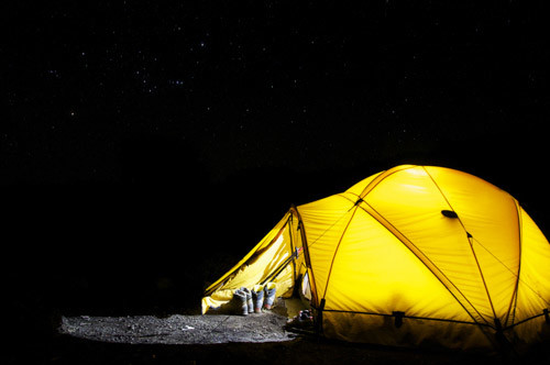 Marokko 7 Tage Trekkingreise im Atlasgebirge, Standard Camping Zelt