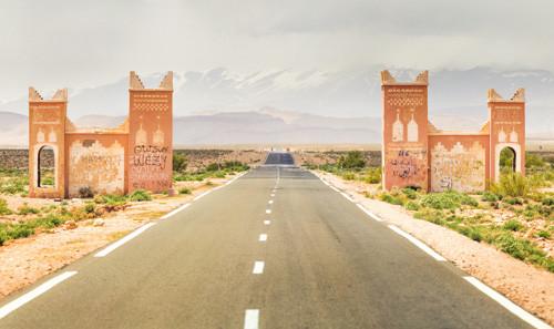 Marokko Sicherheit, Marokko verfügt über gut ausgebaute Straßen