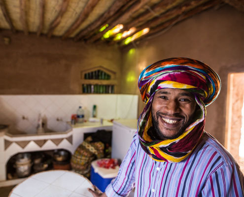 Sustainable tourism Morocco, a nomad in the kitchen